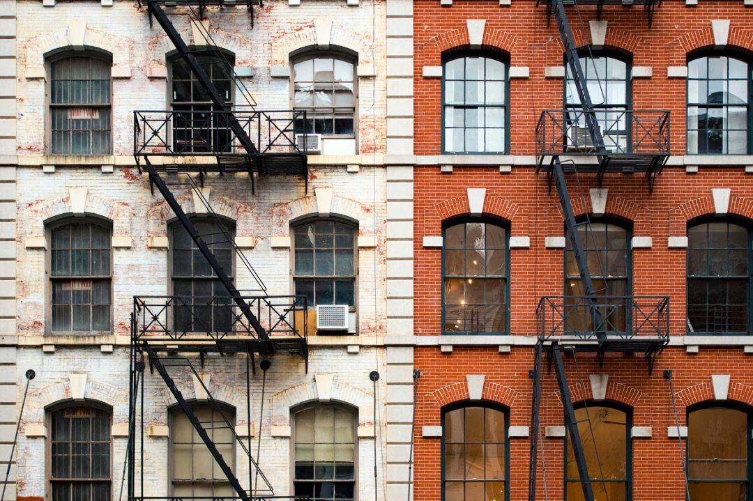 城市公寓建築立面