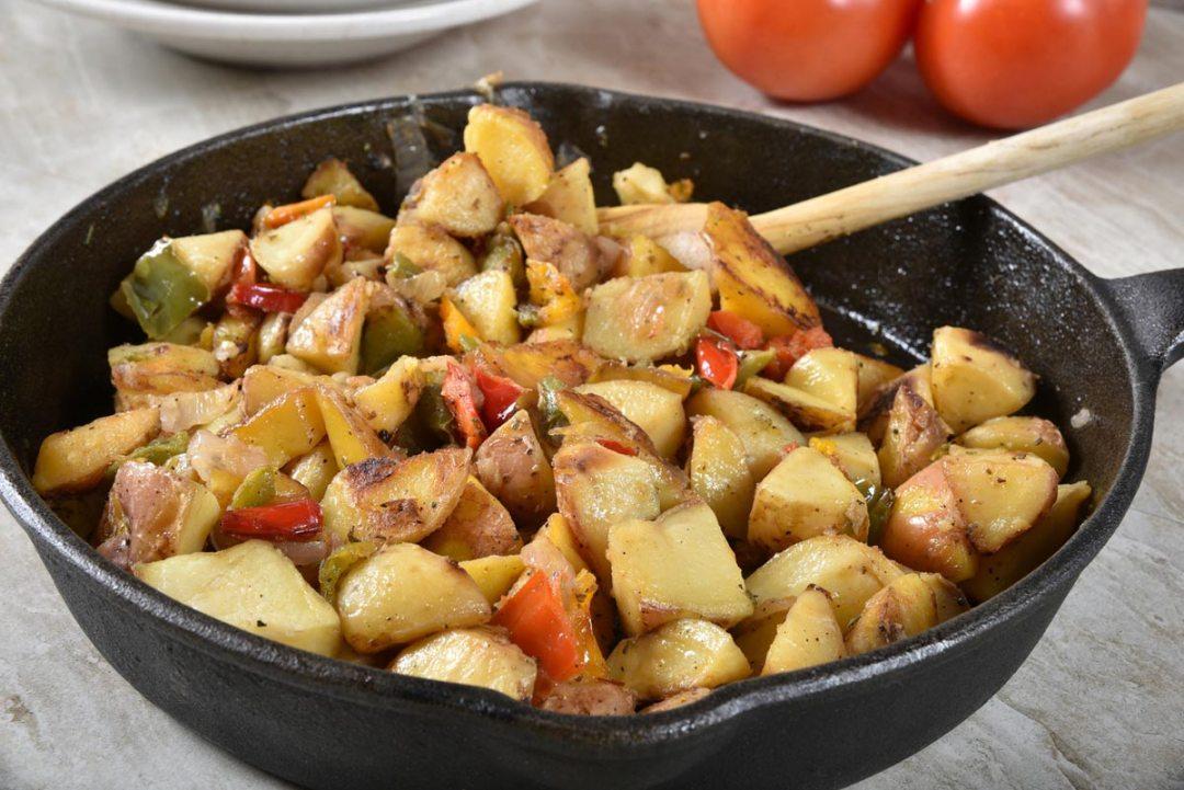 碗裡烤的薯角