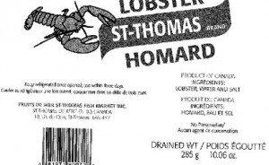 International Recalls: Smoked Salmon and Bottled Lobster