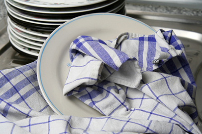 kitchen towels island wood study harbor plenty of bacteria food safety news the was conducted this year on 82 used