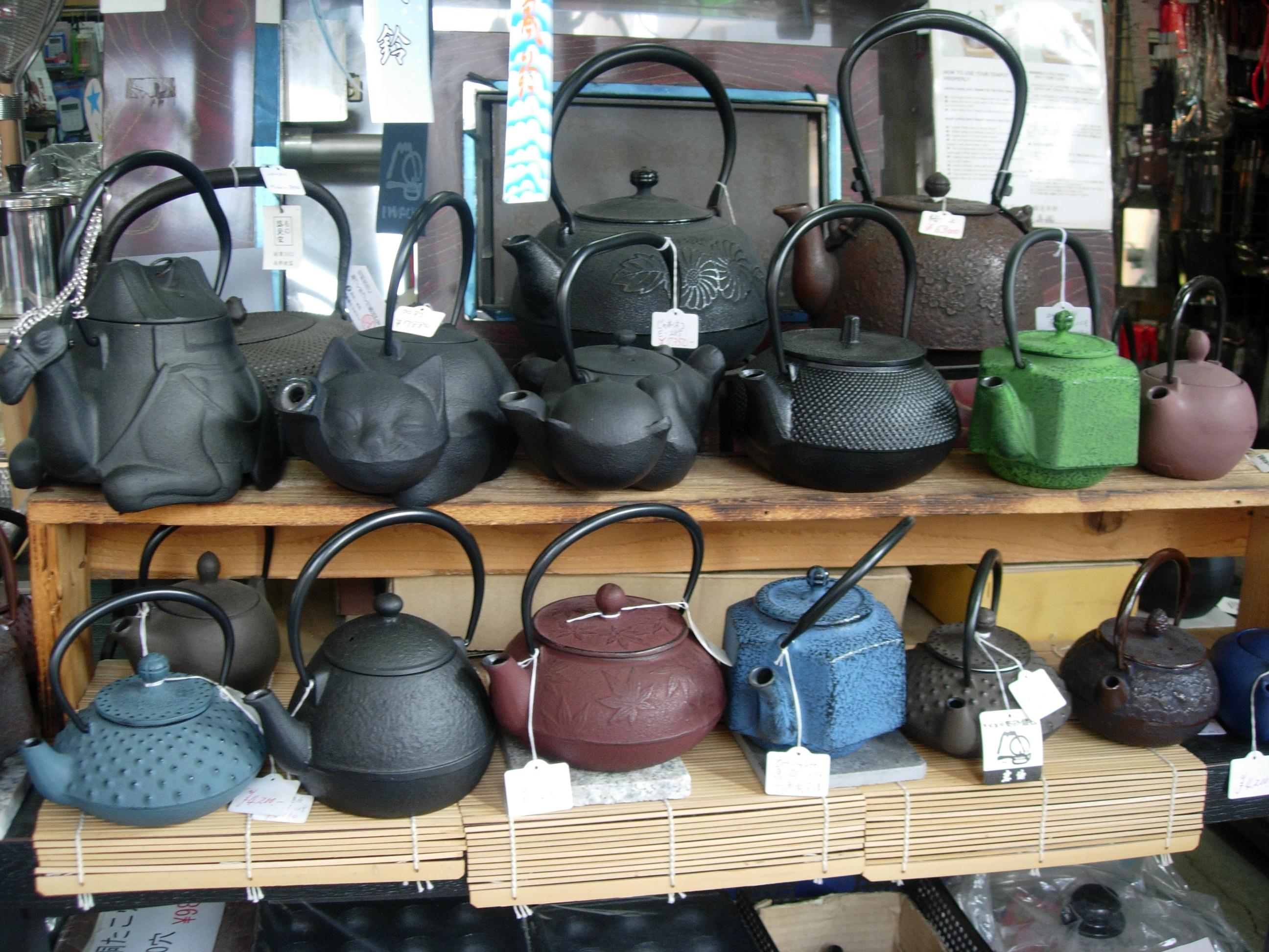 Iron Tea Pots