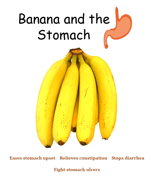 Benefits of banana on the stomach