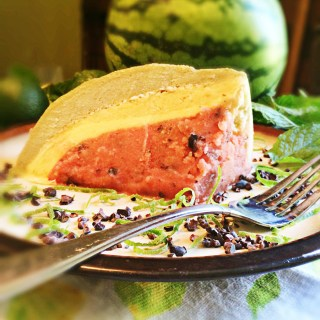 Watermelon Bombe