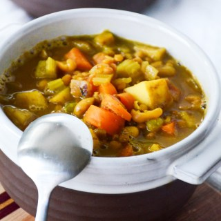 Mulligatawny Soup for the Soul (Vegan, Gluten-free)