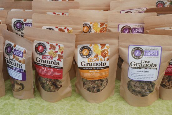 healing granola