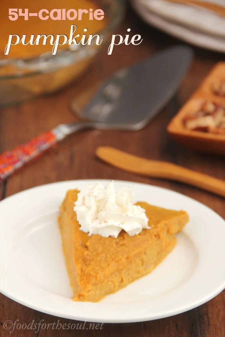 Pumpkin Pie Without Pie Plate