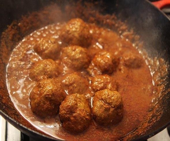 Lamb Spicy Kashmiri Rista