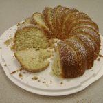 Alton Brown's pound cake