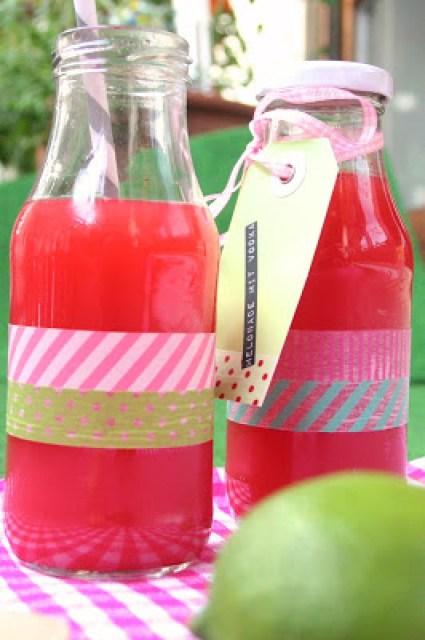 Wassermelonen Limonade mit Vodka
