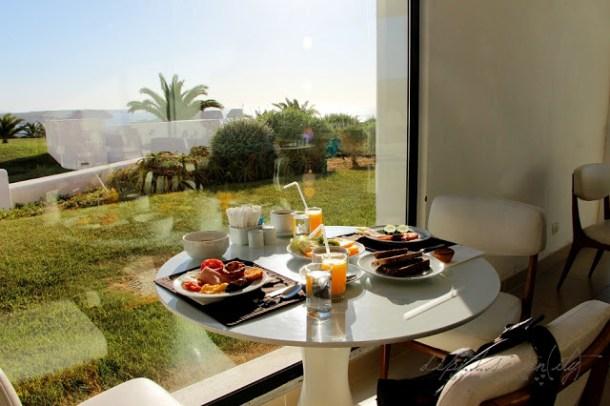 Frühstück - Hotel memmo Baleeira, Sagres, Algarve, Portugal