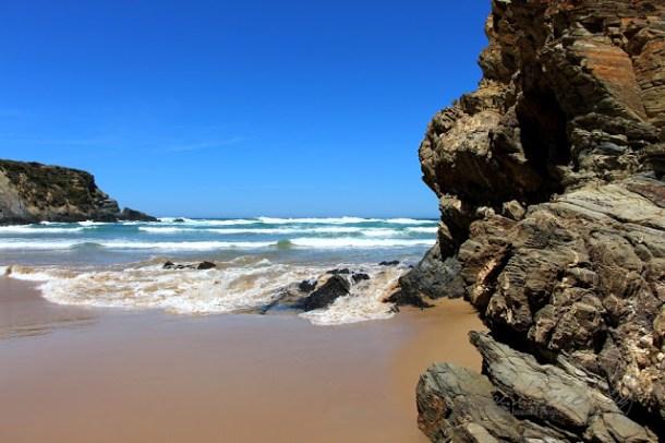 Estrada da Praia, Carrapateira, Algarve, Portugal