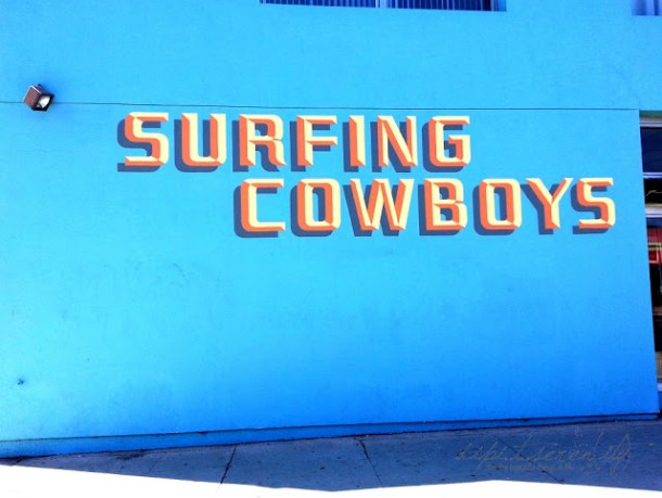 Surfing Cowboys nur in Los Angeles