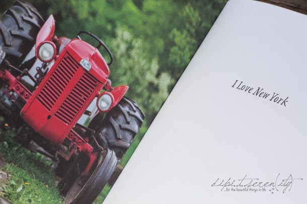 Roter Traktor aus Mein New York Kochbuch - AT Verlag
