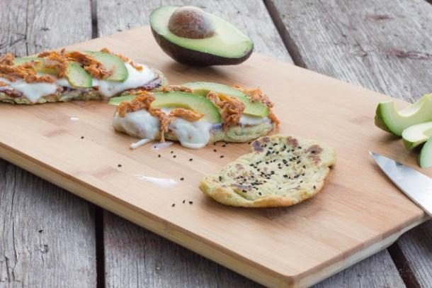 Avocado Naan - Fladenbrot