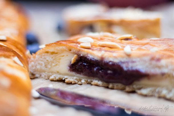 Blueberry-Cheesecake Coffee Bread