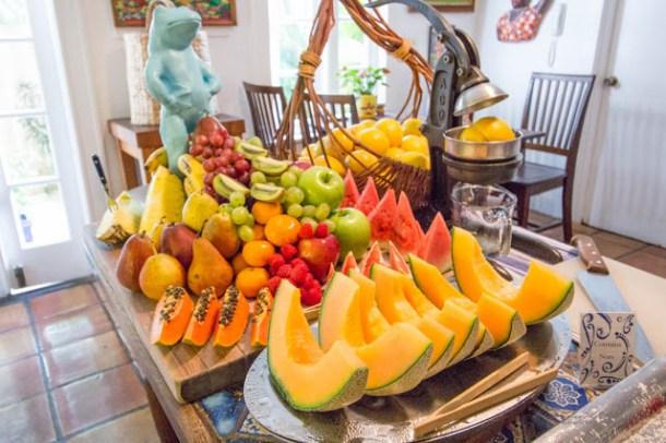 Traumhaftes Frühstück im Key West Bed and Breakfast