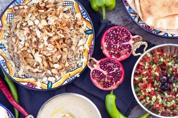 Libanesischer Hushwee Reis