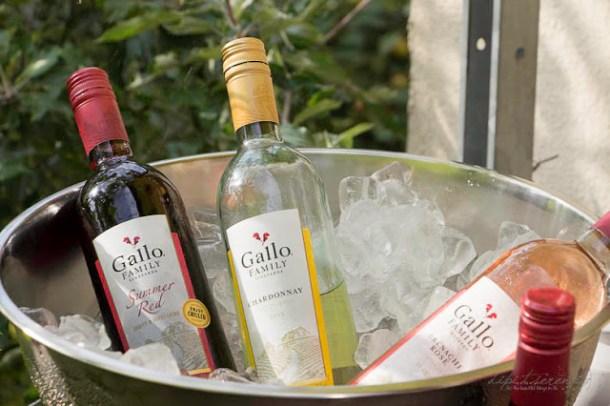 Gallo Family Summer Red, Chardonnay, Rose, Shiraz