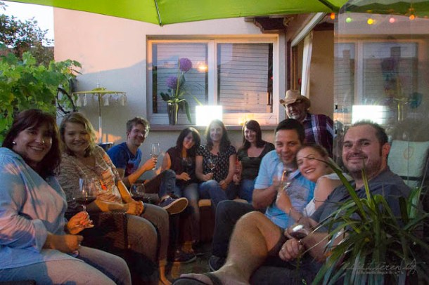 Sommer-BBQ-Fest mti Gallo Family