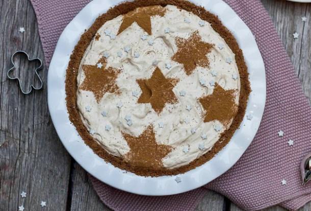 Lebkuchen-Spekulatius Käsekuchen Tart - Last Minute Dessert - foodsister in travel mode