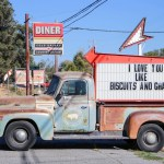 """Insta-Find"":  The Fremont Diner in Sonoma, Kalifornien"