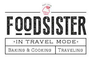 foodsister iin travel mode