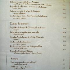 White Linen Chair High 3 Months Paris Restaurants | Food Snob
