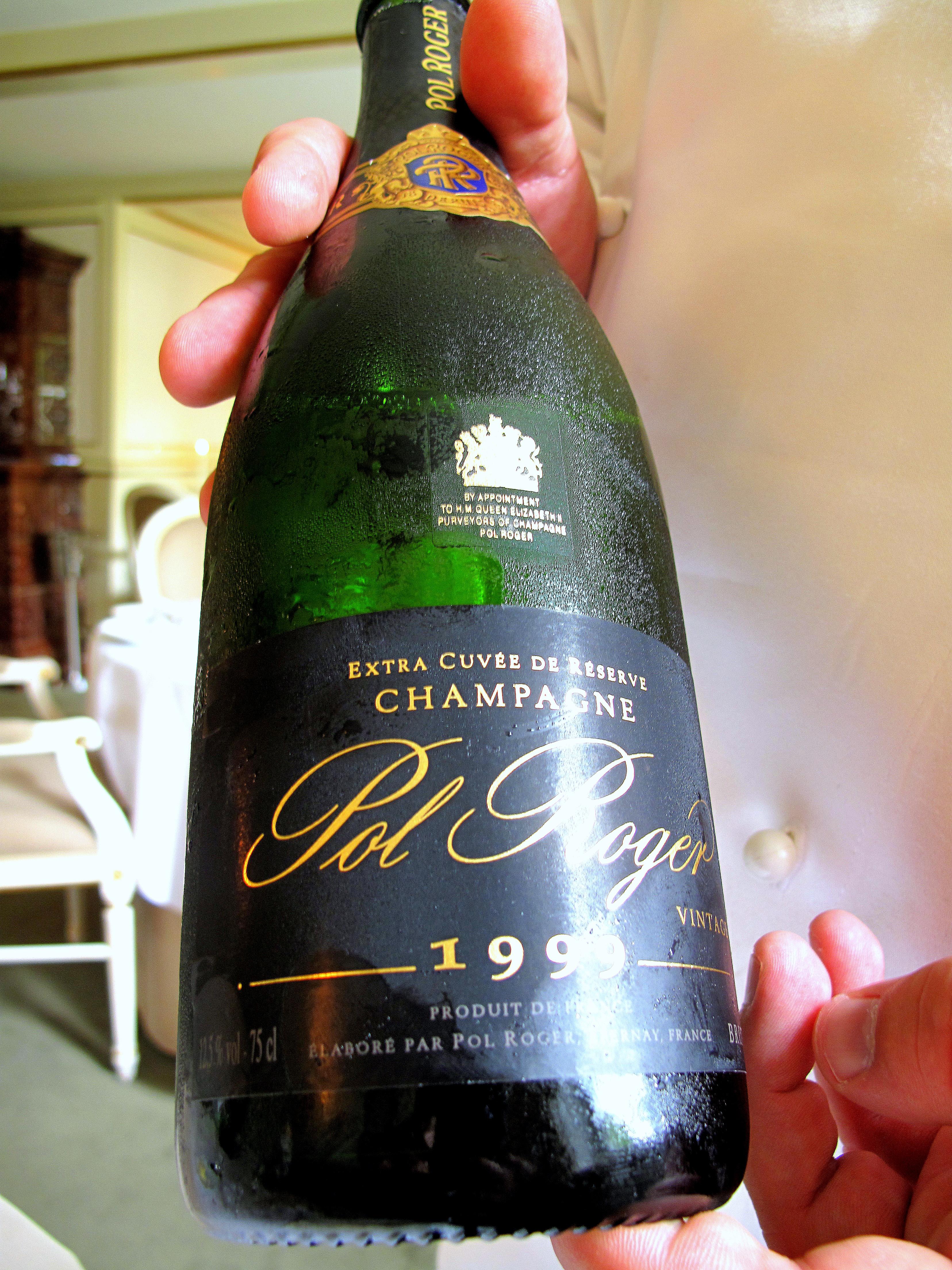 Søllerød Kro - Champagne Pol Roger 1999 Extra Cuvee de Reserve Vintage