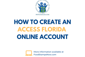 How to create an ACCESS Florida online account