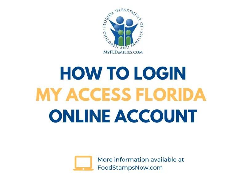 dcf access fl login