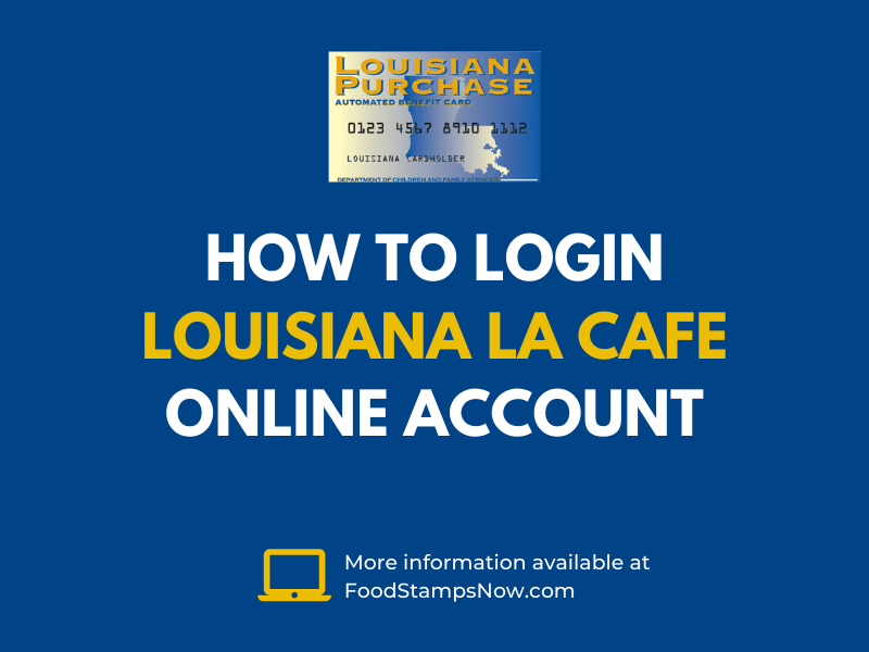 Login LA CAFE online account