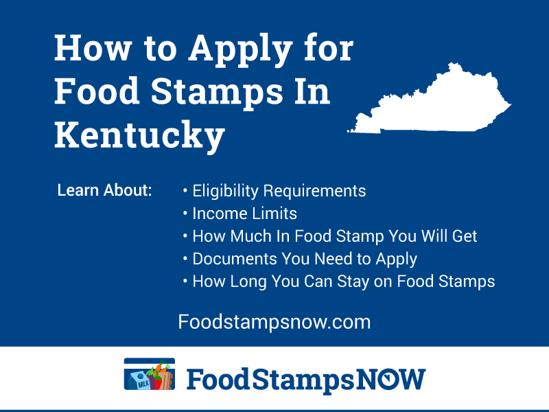 How To Apply For Food Stamps In Kentucky Online Now
