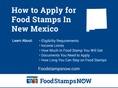 """Apply for Food Stamps in New Mexico Online"""