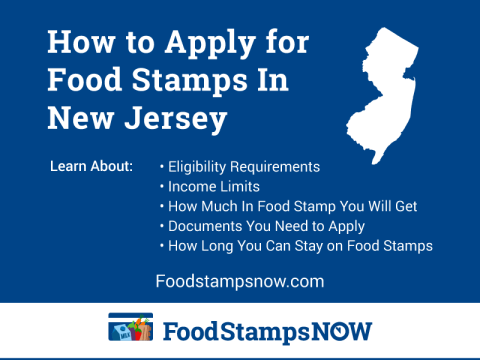 """How to Apply for Food Stamps in New Jersey Online"""