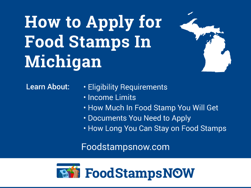 How To Apply For Food Stamps In Michigan Food Stamps Now