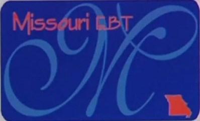 """""""Missouri EBT Card"""""""