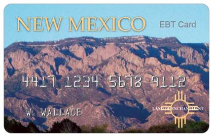 """New Mexico EBT Card"""