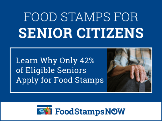 """Eligible Seniors Apply for Food Stamps"""