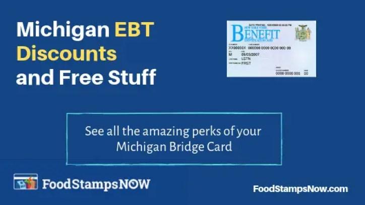 """Michigan EBT Discounts"""
