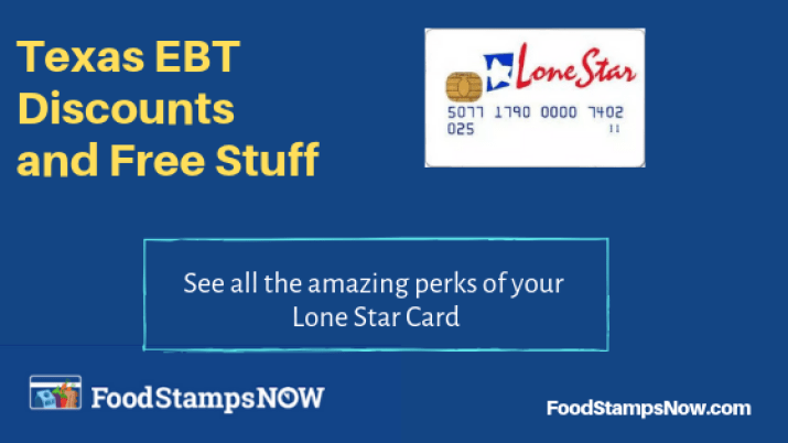 Texas EBT Discounts and Perks 2019 - Food Stamps Now