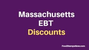 """""""Massachusetts EBT Discounts and Perks"""""""