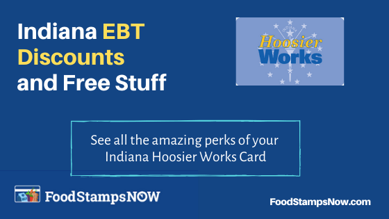 """Indiana EBT Discounts and Perks"""