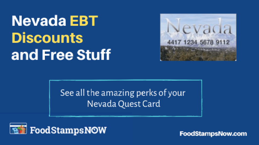 """Nevada EBT Discounts and Perks"""