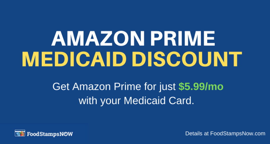 """Sign up for Amazon Prime Medicaid discount"""
