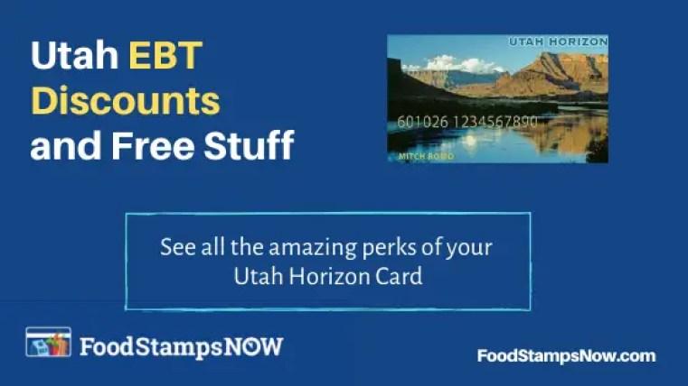 """""""Utah EBT Discounts and Perks"""""""
