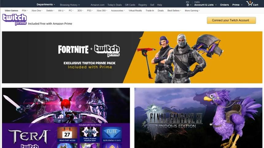 """Amazon Prime Twitch Student Discount"""