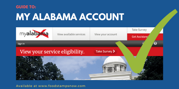 Guide to My Alabama Account