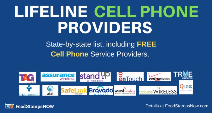 """Lifeline Cell Phone Providers"""