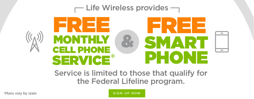 """""""Free Lifeline Phone"""""""
