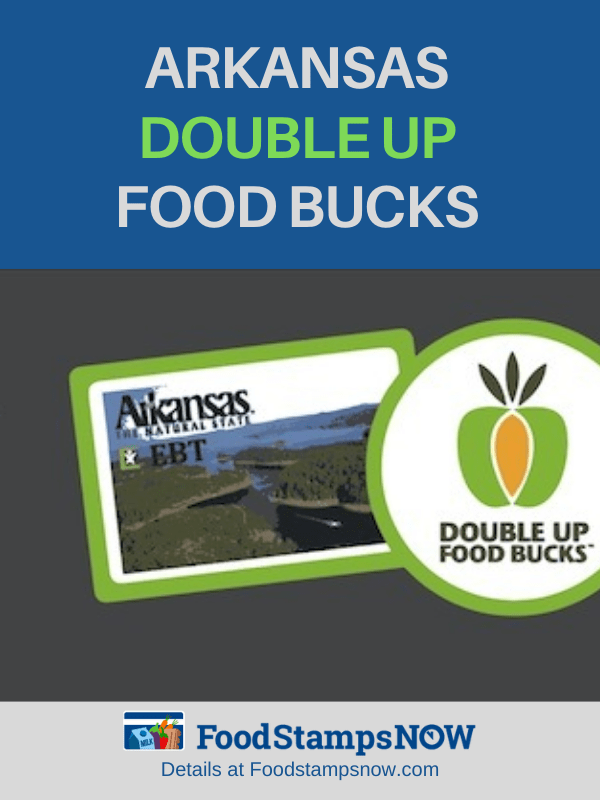 """Double Up Food Bucks in Arkansas"""